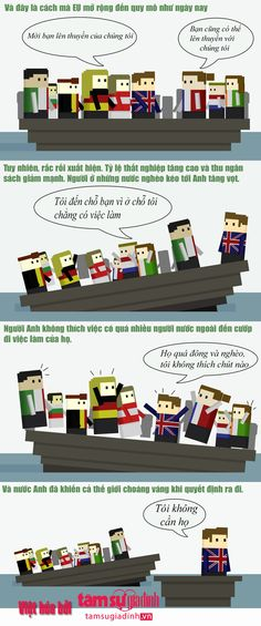 Giải thích lý do Anh rời EU ai đọc cũng hiểu ngay