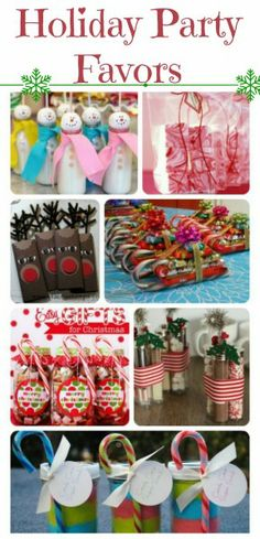 Christmas Holiday Party Favor Ideas