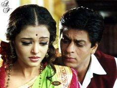 Shah Rukh Khan and Aishwarya Rai - Devdas (2002)
