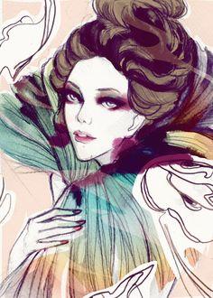 Design Innova: As Ilustrações de Moda por Soleil Ignacio