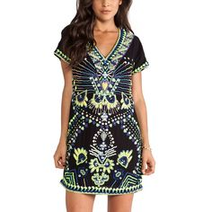 ANTIK BATIK Mini Dress Intricate Gauze Shift Tunic Size Large. Brand New With Tags. $550 MSRP + Tax.   • Beautiful black shift dress featuring an effortless silhouette & short sleeves. • V-neckline with shapeless style body & gauze fabric. • Intricate raw hand-made embellishments. • By Antik Batik for Free People. • Self-lined with a mini dress. • Hidden side zip closure. • Much prettier in person! • Viscose, cotton  { Southern Girl Fashion }  ✔️ Same-Business-Day Shipping (10am CT). ✔️…