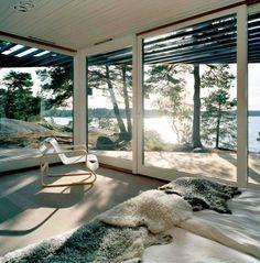 Dream Space//summer home off the stockholm archipelago   photo image ake e lindman