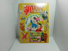 Vintage book/ 50 years with snap crackle pop/ by HotGlueCrafts