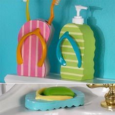 Flip Flop Bathroom Decor