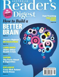 Reader's Digest Australia & New Zealand – November 2020English | 173 pages | pdf | 30.33 MB Download from: NitroFlare