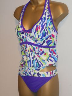 SIZE 18 LADIES BIKINI BOTTOMS PURPLE MIX MARKS /& SPENCER HIPSTER FLORAL BAND
