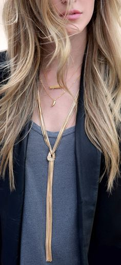 Ready Or Knot Gold Chain Necklace