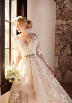 Essense of Australia 2186. AAvailable @ Low's Bridal.