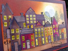 I love to color with the Stampin'Up! Blendabilities! Barbara Meyer #holidayhome #2014holidaycatalog