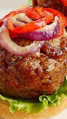 Balsamic Bistro Meatballs ~ Simple, yet versatile, meatball recipe.