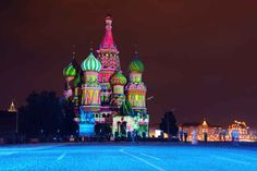 Saint Basil's Cathedral, Russia   26 Real Places That Look Like They've Been Taken Out Of Fairy Tales