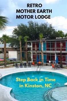 Step Back in Time at Retro Mother Earth Motor Lodge in Kinston, North Carolina | Getting On Travel