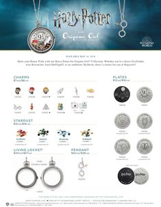 It's finally here, the Harry Potter for Origami Owl collection! www.charmingsusie.origamiowl.com