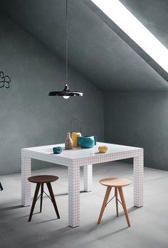 Quaderna table, Zanotta