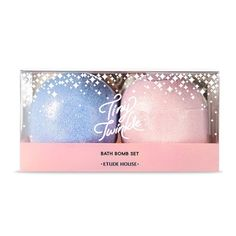 ETUDE HOUSE Tiny Twinkle Bath Bomb Set (130g*2ea) Tiny Twinkle Holiday Collection !  ETUDEHOUSE,kosmeshop,koreacosmetics,koreaskincare,koreamakeup,l