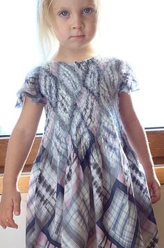 Nuno felted girl dress  Merino wool and cotton pastel by Rasae, $57.00