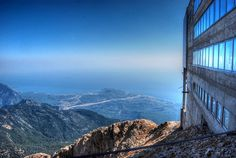Mount Tahtali in the Antalya Region of Turkey can be reached via cable car #turkey #antalya