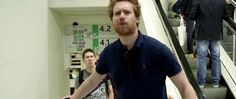 SMIFFY <3 also... Ross' face tho! haha - [click for gif set]