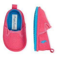 Billie Slip-On Sneaker - Baby Girl New Arrivals - RalphLauren.com