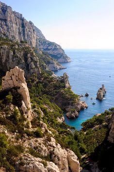 Calanques De Marseille, France