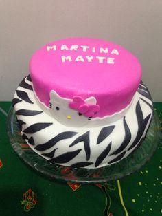 Torta cebra hello kitty