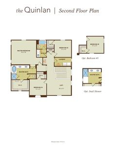 Perfect.   Quinlan Home Plan by Gehan Homes in Tierra Del Rio - Villagio Series