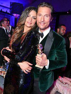 Matthew McConaughey & Beautiful Wife ❤️