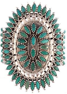 Obsessed w/this beautiful Zuni cuff Pierre Turquoise, Coral Turquoise, Turquoise Gemstone, Turquoise Jewelry, Turquoise Bracelet, Aqua, I Love Jewelry, Body Jewelry, American Indian Jewelry