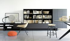 T030 - Modular Wall System, & Wall Boxes - Piero Lissoni for Lema - Rogerseller