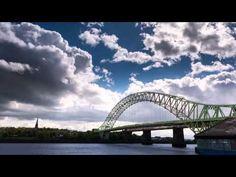 Runcorn Bridge Time lapse Video