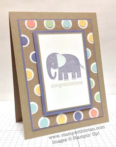 Zoo Babies and Season of Style DSP  Stampin' Up!, Brian King