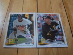 Andrew Lambo RC Starling Marte 2014 Topps Opening Day Pirates 2 Card Lot | eBay