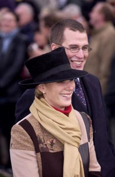 Zara and Peter Phillips