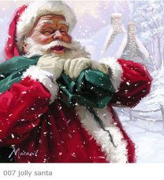 Santa Claus by Richard Macneil