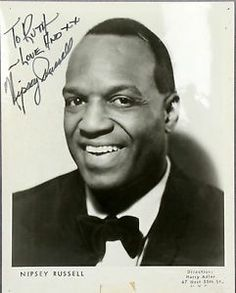 Nipsey Russell was a comedian who appeared as a guest panelist on several game shows throughout the 1960s, '70s, '80s and '90s. Russell also played a leading role in the 1978 film The Wiz as the Tin Man. His comedic routines were landmark in that he refused to use stereotypical dialects or play stereotypical roles in his acts. His work as a comedian who defied stereotypes broke barriers for rising comedians of all backgrounds. He died on October 2, 2005.