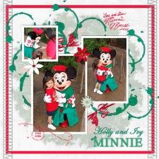 2004 Minnie Animal Kingdom - MouseScrappers - Disney Scrapbooking Gallery