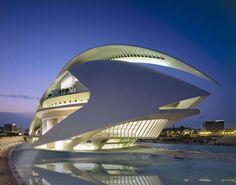 Palacio de las Artes Reina Sofía - Valencia, Spain