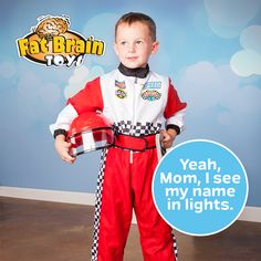 If kids can imagine themselves into it, they can make it happen! Give them a head start with role play costumes and everyday dress-up! Click to see the full Melissa & Doug line.