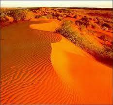 The Simpson Desert, Australien