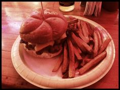 Terry's Turf Club Bacon Cheese Burger