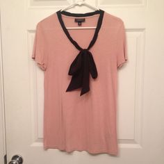 Blush Color Bow Tie Shirt. Jason Wu for Target Black bow, great for work and tucking into skirts Jason Wu Tops