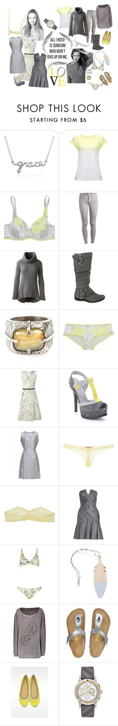 """Hollis: Cloudy with the chance of Sun"" by foreevers ❤ liked on Polyvore featuring Blue Nile, Des Petits Hauts, Elle Macpherson Intimates, Pieces, Alexander McQueen, TAXI, Tobias Wistisen, Carolina Herrera, Fendi and Jaeger"