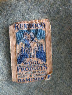 Another vintage Kenwood Ramcrest blanket label.  Via farm lass on Blogspot.