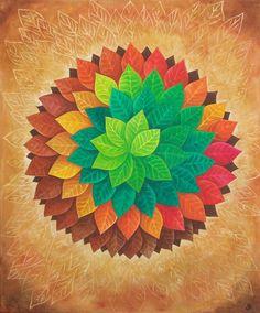 ∻ Autumn Mandala ∻