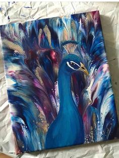 art on canvas acrylic * art on canvas ; art on canvas ideas ; art on canvas easy ; art on canvas acrylic ; art on canvas diy ; art on canvas for kids ; art on canvas ideas acrylics ; art on canvas abstract Easy Canvas Painting, Simple Acrylic Paintings, Acrylic Canvas, Easy Paintings, Painting & Drawing, Acrylic Painting Animals, Canvas Painting Designs, Artist Painting, Colorful Paintings