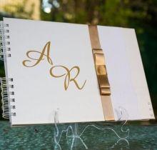 Livro de assinaturas personalizado