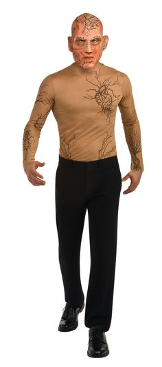 Beastly Kyle Teen Costume - Includes a tattoo t-shirt and headpiece. Does not include makeup, pants, or shoes. This is an officially licensed Beastly costume. Teen (34-36).