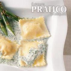 Raviolis au saumon - Recettes - Cuisine et nutrition - Pratico Pratique
