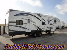 Mega Party Wagon 5th Wheel Toy Hauler! 2013 Torque 291 WOW! This big ole toy hauler is the ideal rig for the party hardy camper! With sleeping for 12+  your whole crew can get in on all of the fun!
