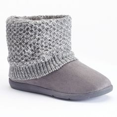 Women's SONOMA Goods for Life™ Knit Boot Slippers, Size: